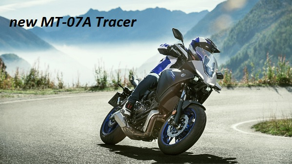 new MT-07A Tracer 2020